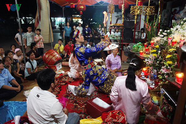 Mother Goddess worship reflects the Vietnamese folk culture