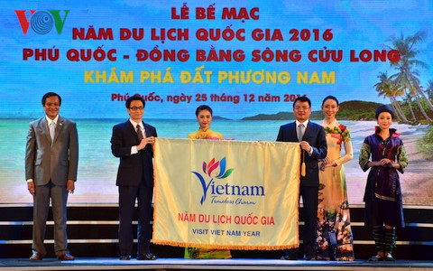 "National Tourism Year 2016: ""Phu Quoc - Mekong River Delta"" closes"