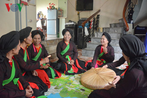 Preserving Quan Ho folk singing