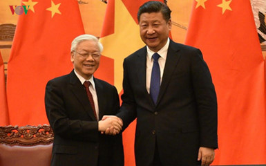 Party chief's message of thanks to China