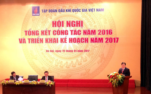Deputy PM praises Vietnam National Oil and Gas Group's 2016 performance