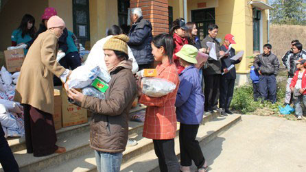 Ensuring a happy Tet for poor people in the central region