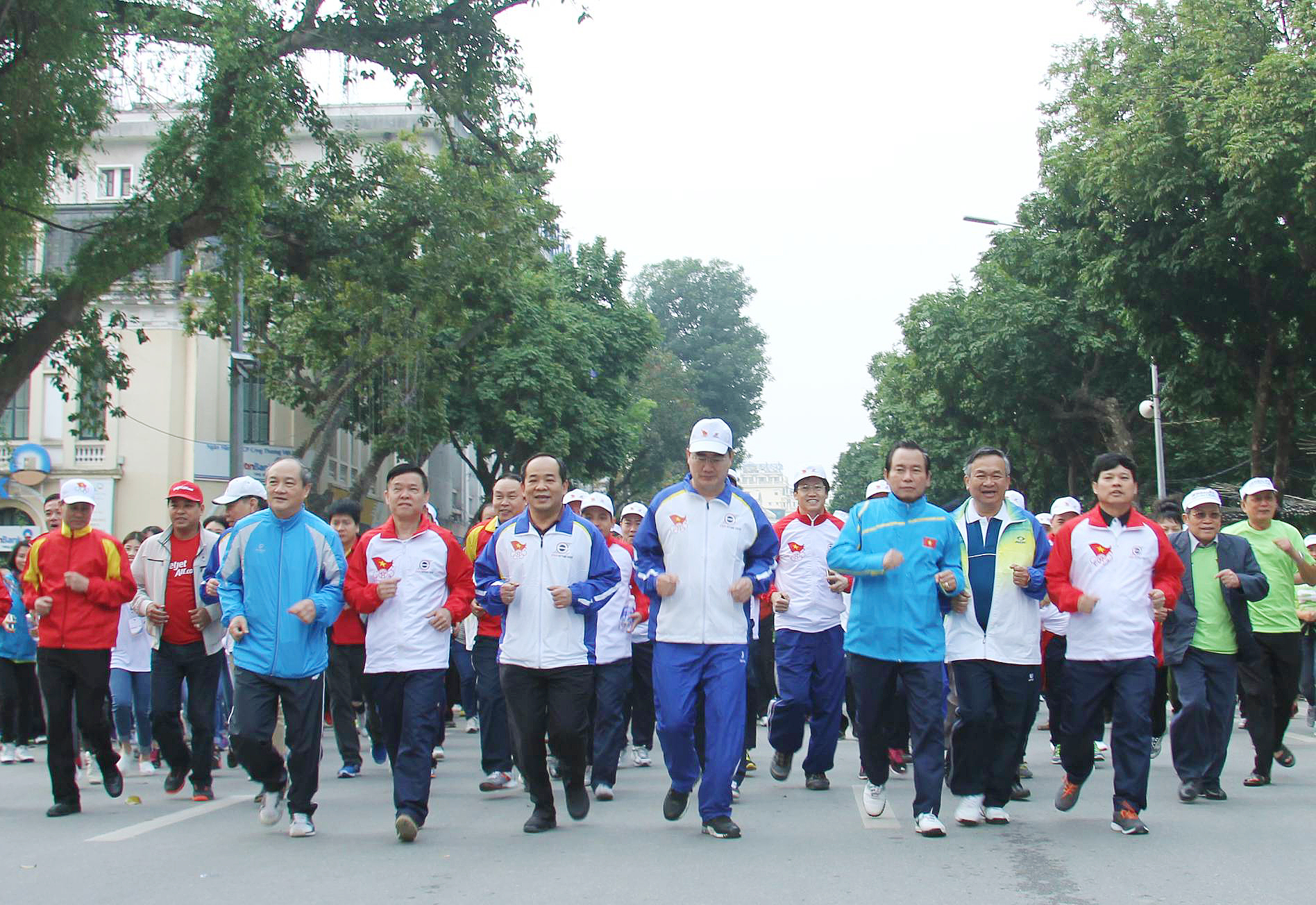 7.2 million people mobilized to Olympic Run Day 2017