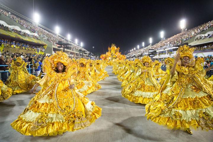 Street Carnival in Brazil