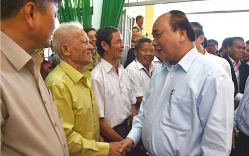 Prime Minister visits Khue Ngoc Dien commune, Dak Lak province