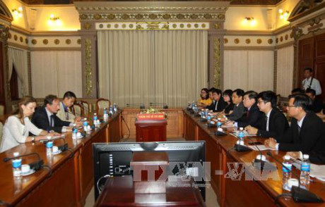Ho Chi Minh City boosts cooperation with the EU