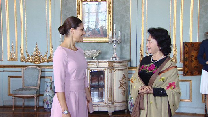 National Assembly Chairwoman meets Swedish Crown Princess
