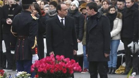 Francia continúa actividades en homenaje a víctimas de ataques terroristas