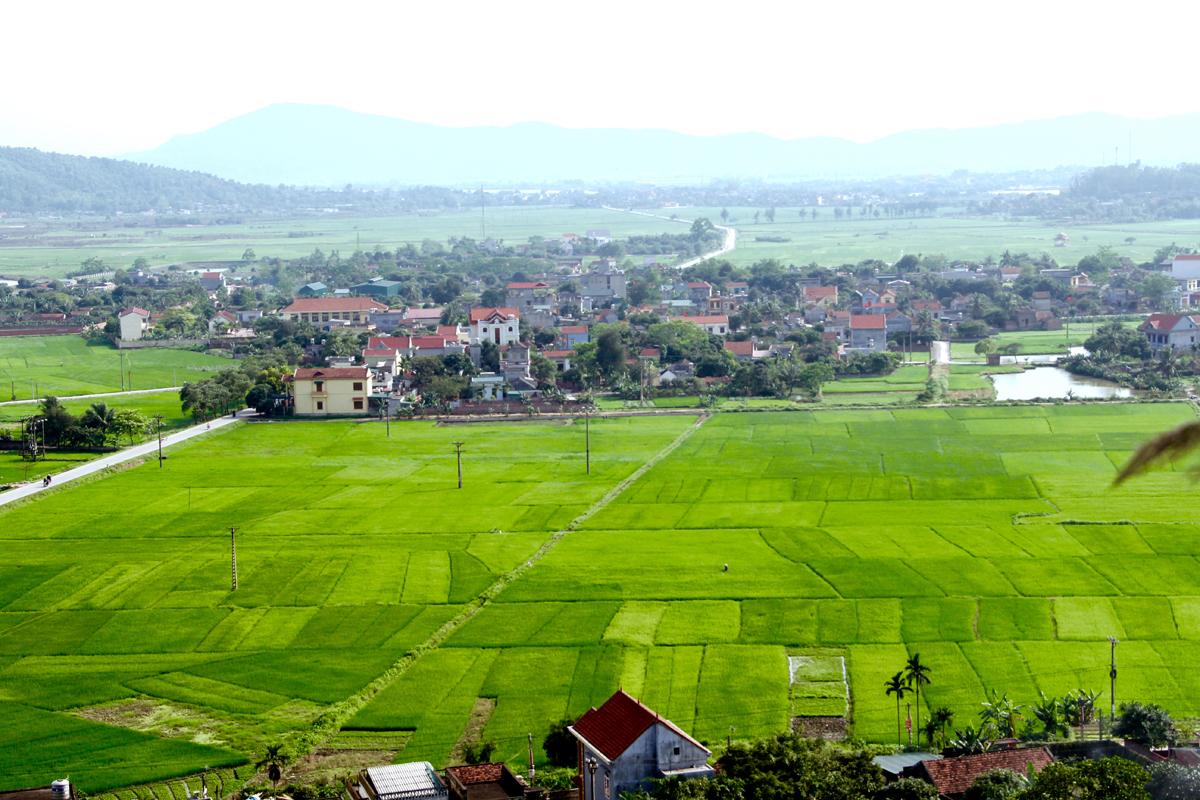 Quang Ninh cumple programa de construcción de zonas rurales de nuevo tipo