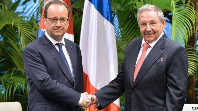 Visitará Francia presidente cubano, Raúl Castro