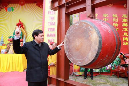 Celebran festividades tradicionales en ocasión del Año Nuevo Lunar