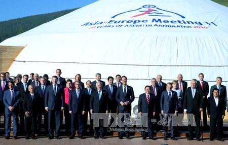 Concluye ASEM 11 en Mongolia con la aprobación de importantes decisiones