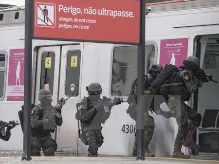 Brasil refuerza seguridad en aeropuertos en vísperas de Juegos Olímpicos