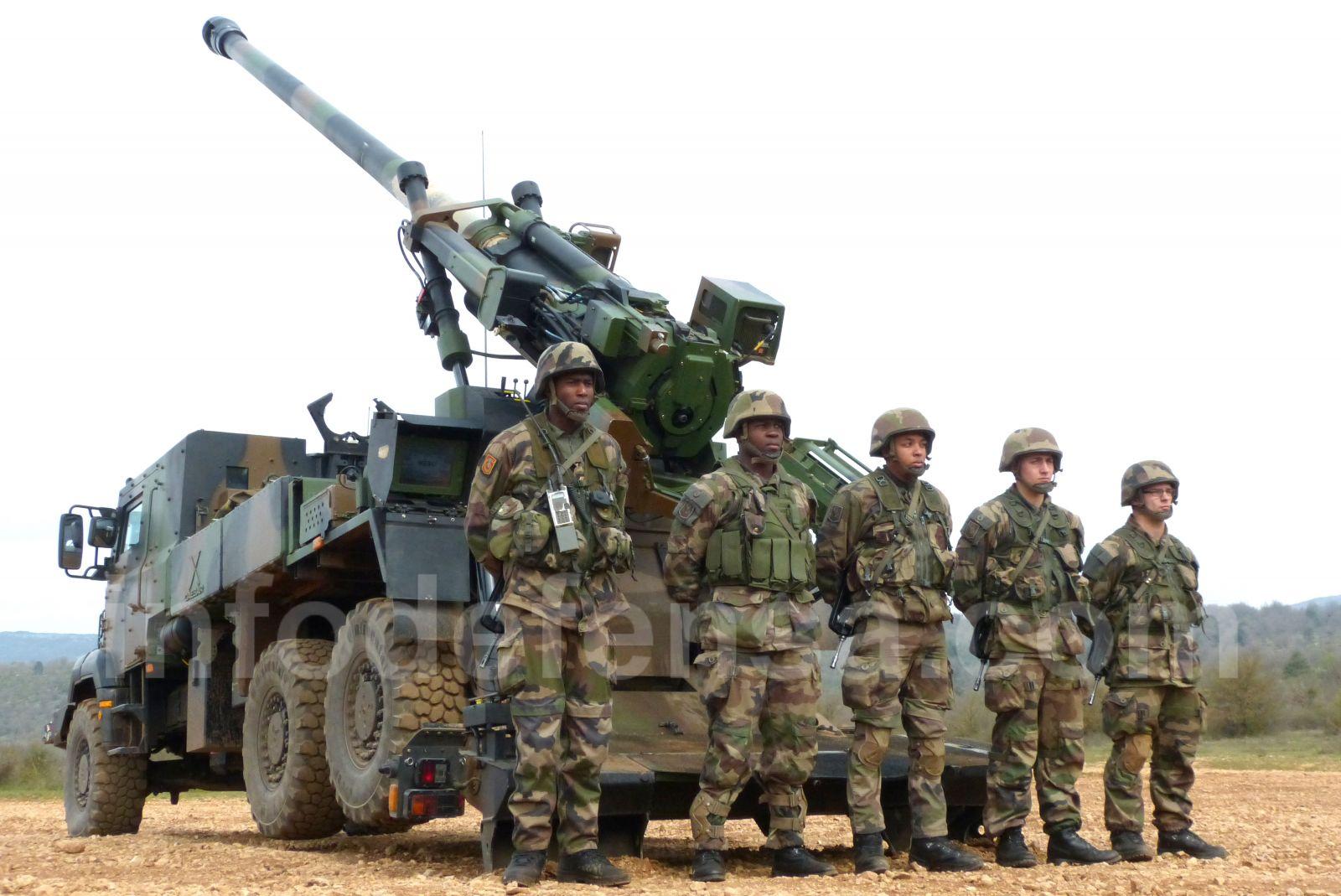 Francia suministrará medios de artillería al ejército iraquí