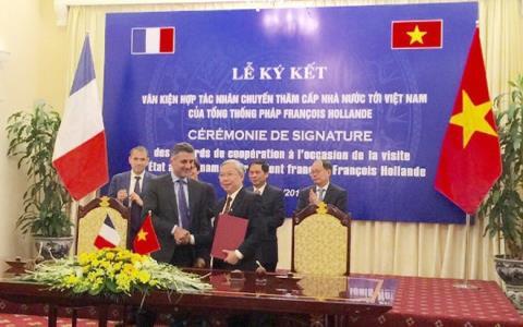 Foro empresarial Francia-Vietnam en Ciudad Ho Chi Minh