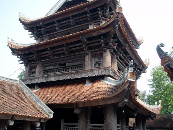 Centenaria pagoda Keo exalta la antigua arquitectura de culto de Vietnam