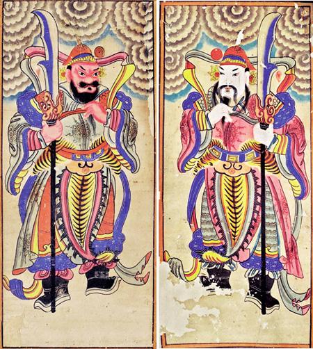 Pintura de culto de etnias del norte de Vietnam