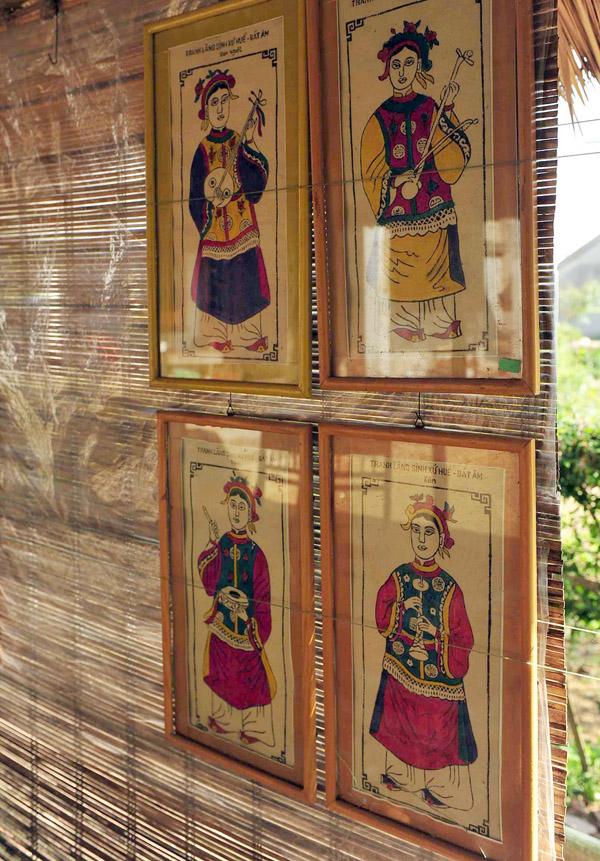 Pintura de la aldea Sinh enriquece vida espiritual de compatriotas en antigua capital de Vietnam