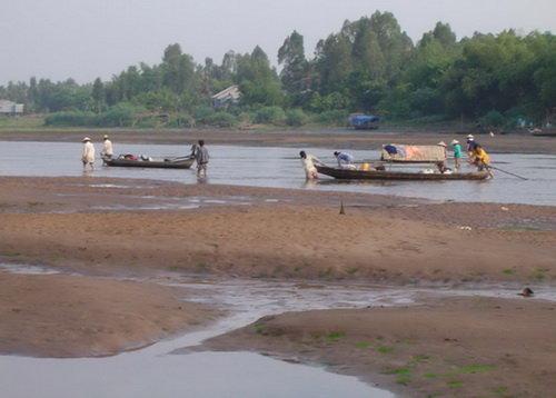 Agricultores en el delta del río Mekong se adaptan a temporada de sequía