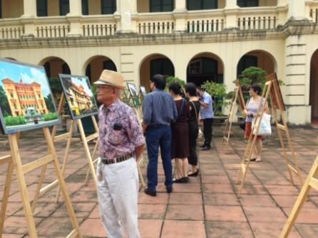 Patrimonios arquitectónicos de Hanoi a través del lente fotográfico