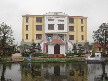 Único museo del campo en Giao Thuy