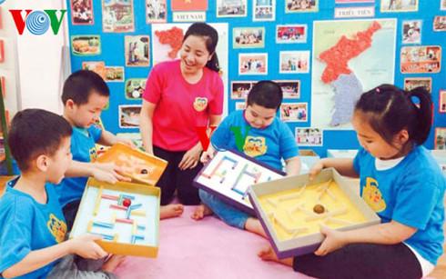 Hoa Le, ganadora del concurso de diseño de material didáctico para educación inicial