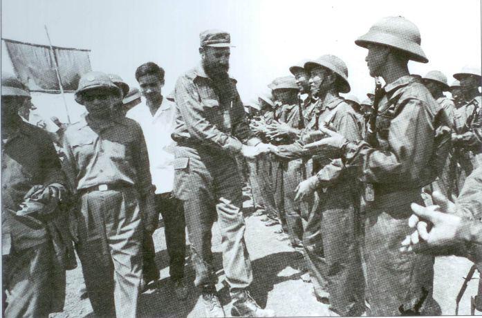 Regalo de Fidel Castro a la población de la provincia de Quang Binh
