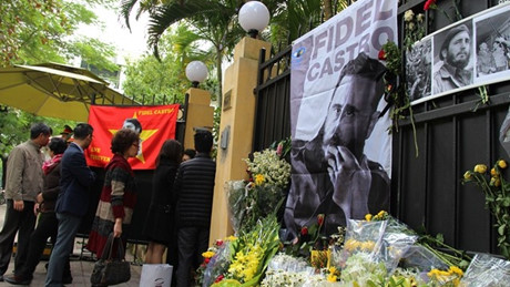 Vietnam en día de duelo nacional en homenaje al líder cubano, Fidel Castro