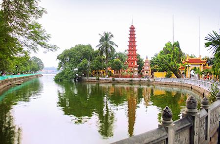 Tran Quoc, una de las pagodas más bellas del mundo