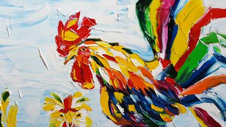 """Imagen renovada del gallo resalta en exposición """"Dậu Dome"""""""
