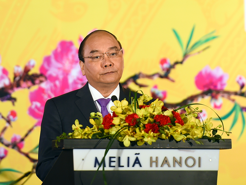 Primer ministro de Vietnam ofrece un banquete al cuerpo diplomático en el país