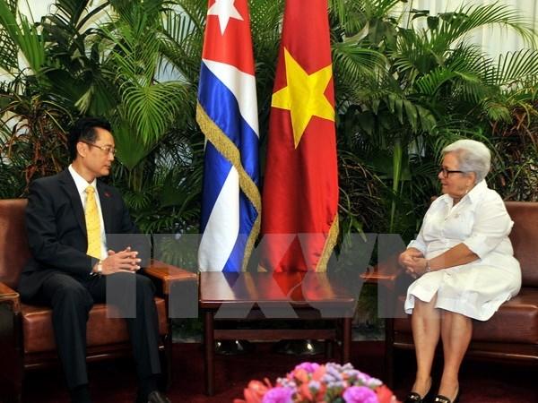 Vicepresidenta cubana confía en el fortalecimiento de vínculos con Vietnam