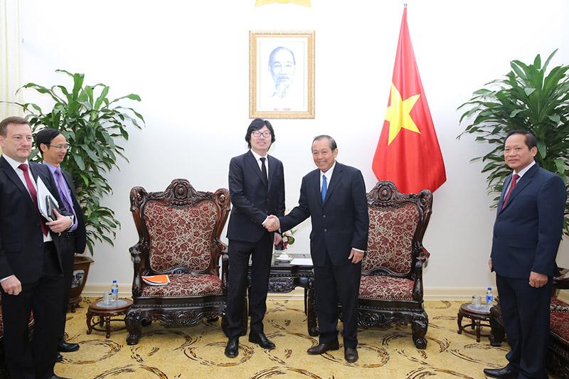 Vietnam y Francia abogan por intensificar cooperación técnica