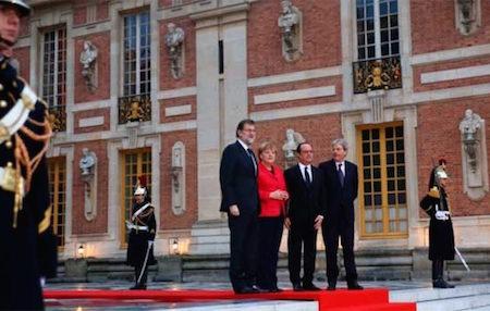 """Francia, Alemania, España e Italia piden una Europa """"de múltiples velocidades"""""""