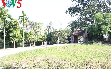 Antiguo villorrio Duong Lam, territorio de dos reyes