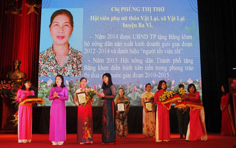 Phung Thi Tho, una excepcional mujer de negocios