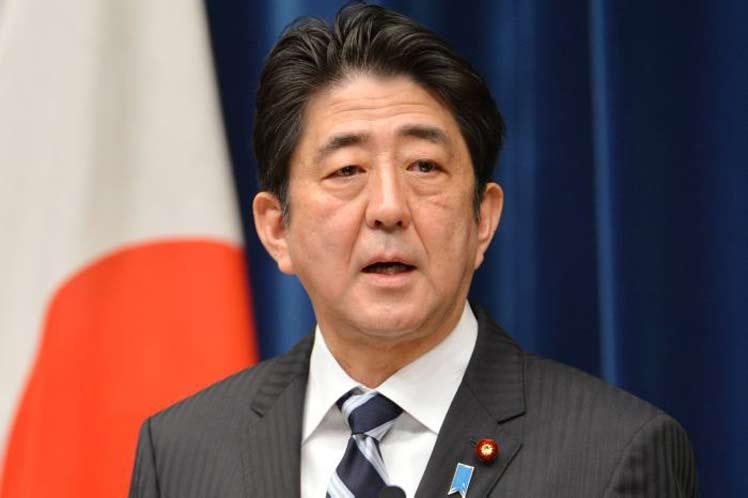 Japón anuncia gira del premier Shinzo Abe por Europa
