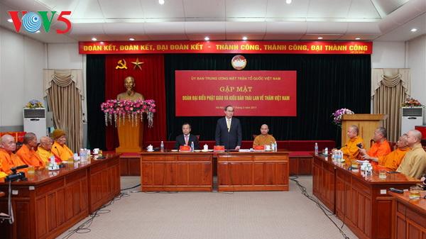 Vietnam apoya desarrollo del budismo nacional en Tailandia