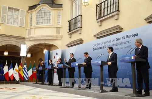 Países de Europa Meridional comprometidos a reforzar Unión Europea