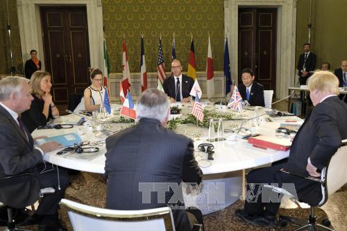 Países del G7 y Oriente Medio debaten situación siria