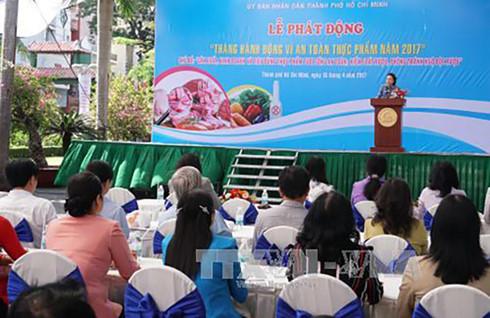 Ciudad Ho Chi Minh lanza Mes de Acción por la seguridad alimentaria