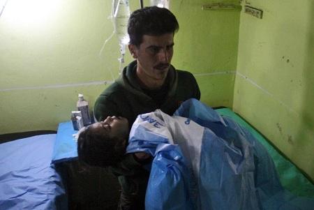Muestran resultados de análisis sobre uso de armas químicas en Siria