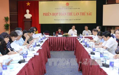 Comité parlamentario de Asuntos Sociales de Vietnam aborda ley contra efectos de bebidas alcohólicas