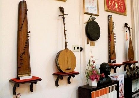 Berbagai jenis instrumen musik tradisional di Vietnam