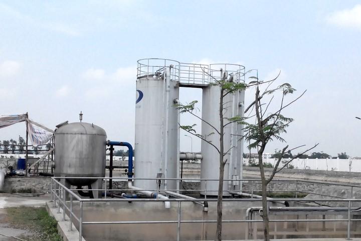 Menganekaragamkan pola pengadaan air minum kepada daerah pedesaan di propinsi Bac Ninh