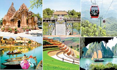 Penjelasan mengenai langkah-langkah mengembangkan pariwisata yang dijalankan Pemerintah Vietnam