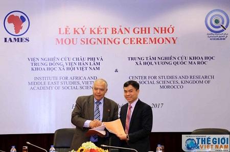 Bekerjasama dan bertukar informasi ilmu antara Vietnam dan Maroko