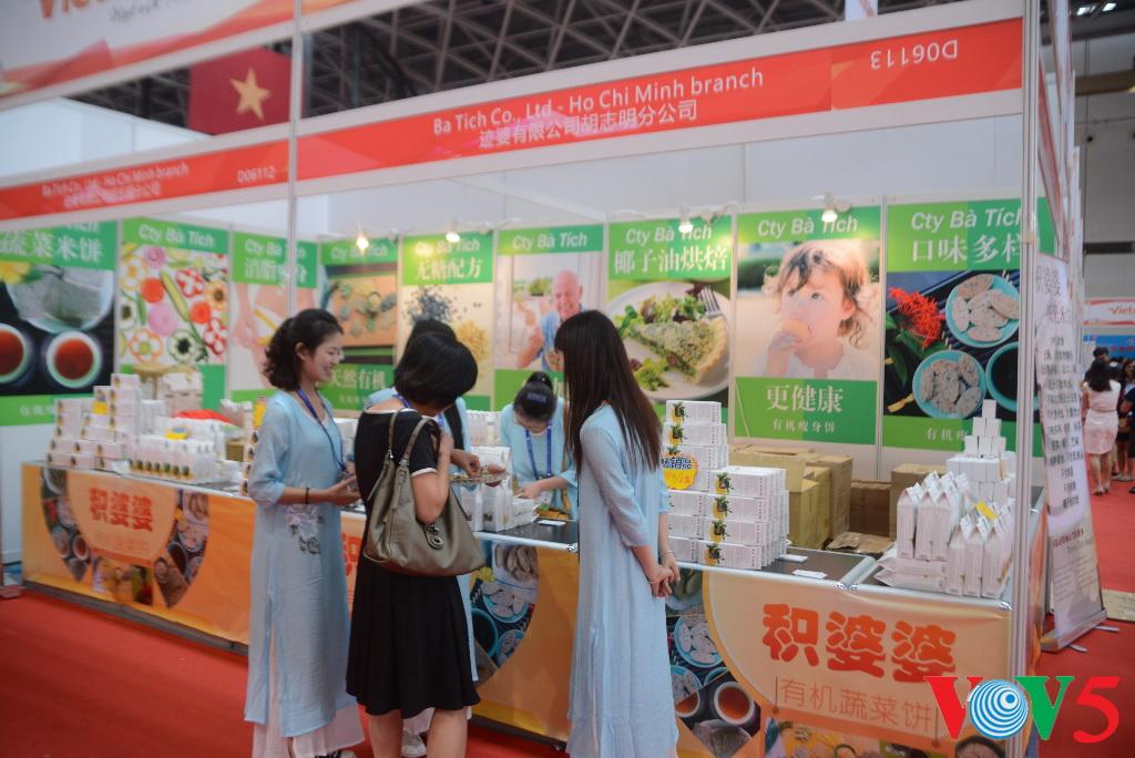 越南品牌在第13届东博会上广受欢迎