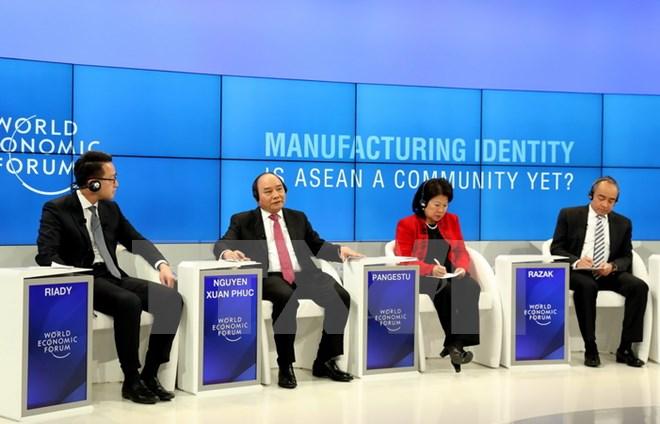 越南努力同东盟成员国建设强大的东盟共同体