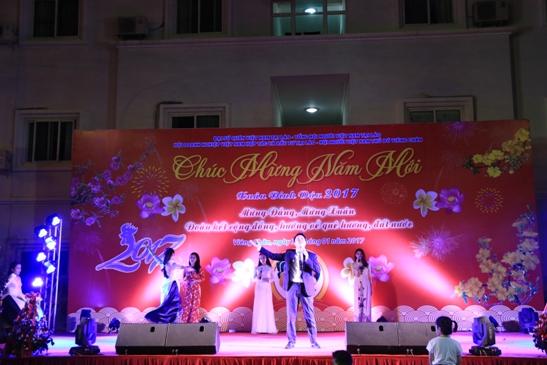 旅外越南人欢度传统春节